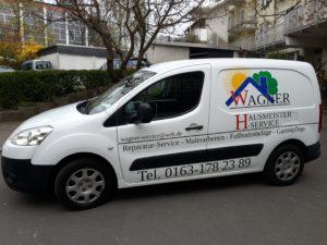 Fahrzeug Hausmeister Wagner